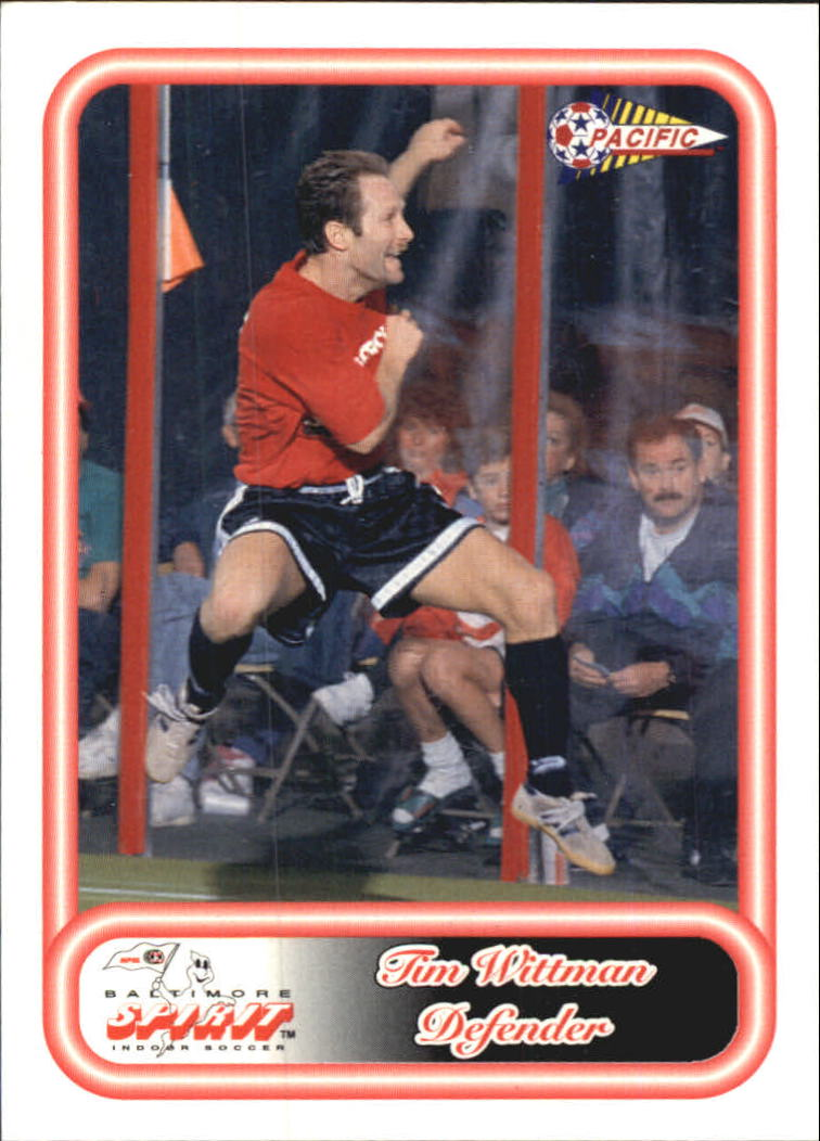 1993 Pacific NPSL #9 Tim Wittman
