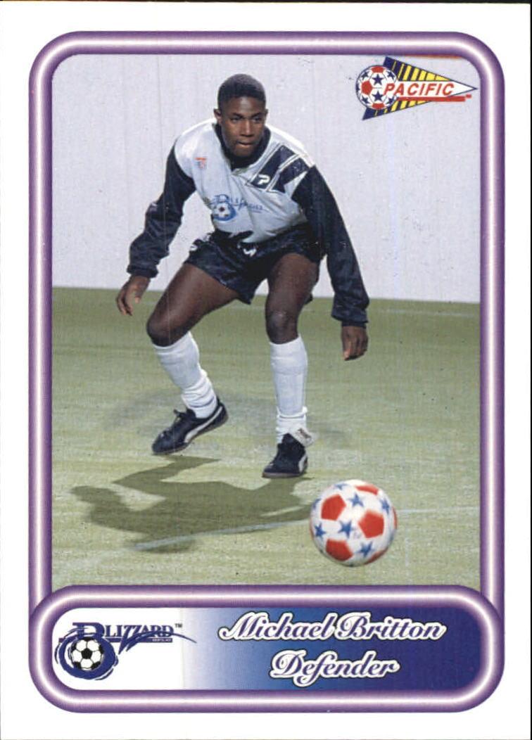 1993 Pacific NPSL #10 Michael Bitton