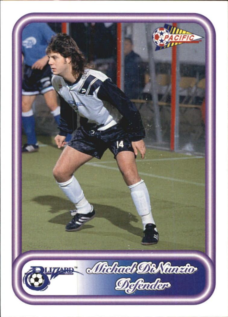1993 Pacific NPSL #11 Michael DiNunzio