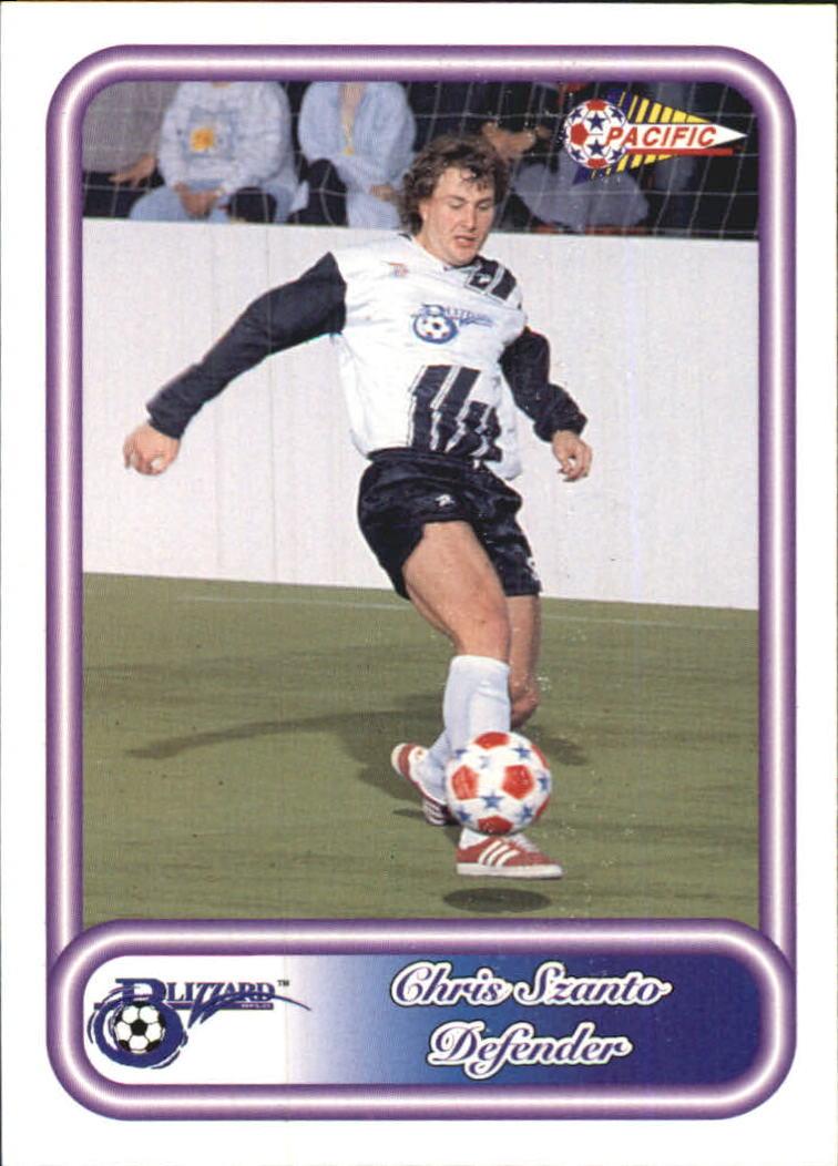 1993 Pacific NPSL #16 Chris Szanto