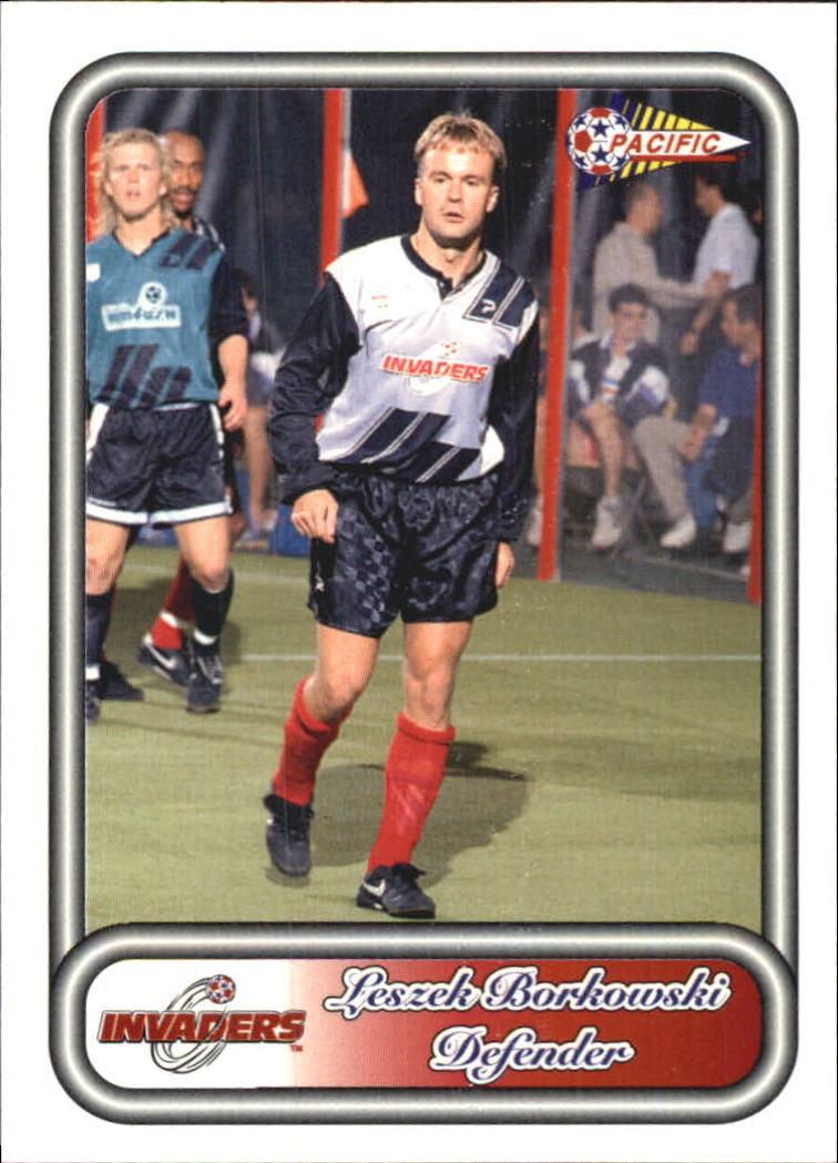 1993 Pacific NPSL #21 Leszek Borkowski