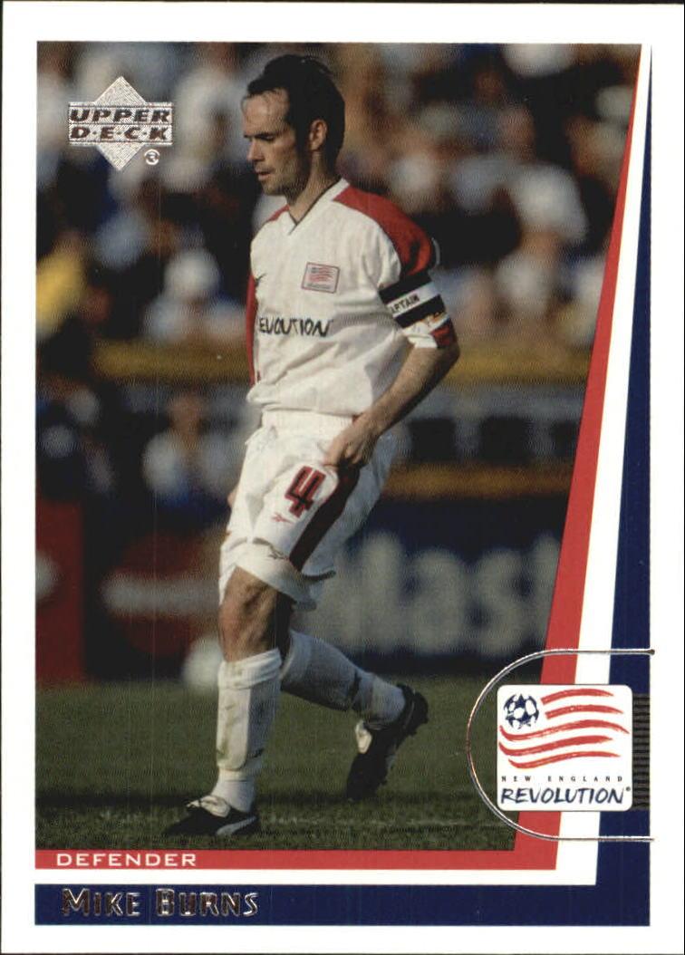 1999 Upper Deck MLS #62 Mike Burns RC