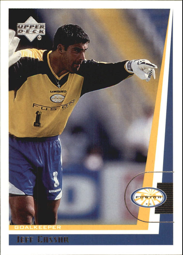 1999 Upper Deck MLS #76 Jeff Cassar RC