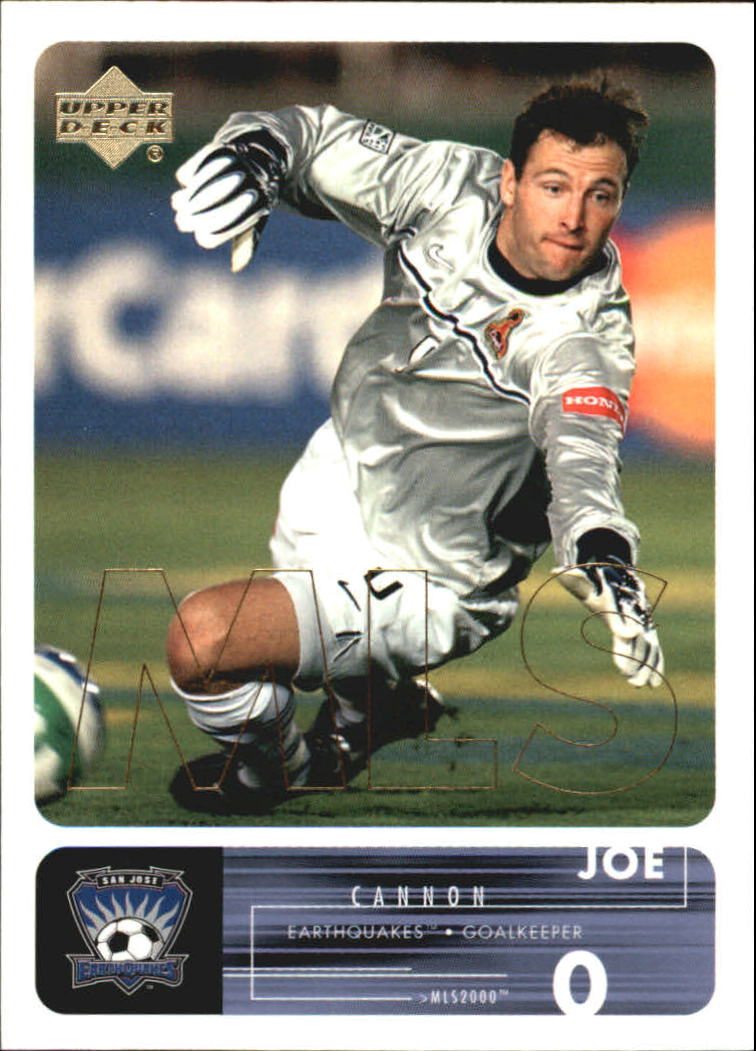 2000 Upper Deck MLS #60 Joe Cannon RC