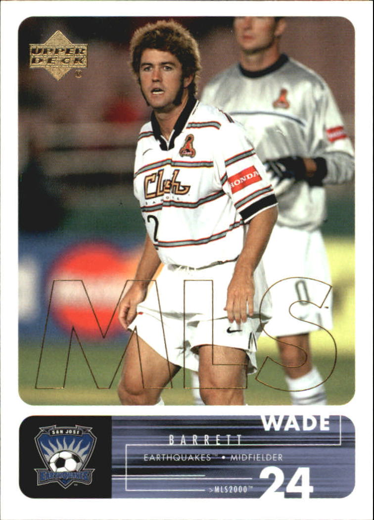 2000 Upper Deck MLS #61 Wade Barrett RC