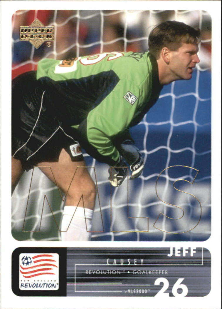 2000 Upper Deck MLS #70 Jeff Causey RC
