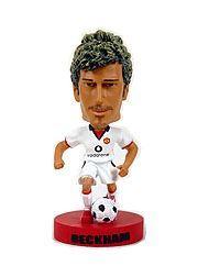 2003 Upper Deck Manchester United Mini Playmakers Bobble Head Dolls White #1 David Beckham