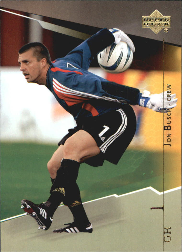 2004 Upper Deck MLS #27 Jon Busch RC