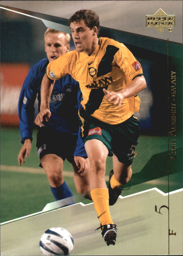 2004 Upper Deck MLS #58 Chris Albright RC