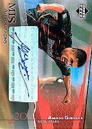 2004 Upper Deck MLS Autographs #AGA Amado Guevara