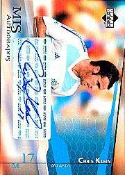 2004 Upper Deck MLS Autographs #CKA Chris Klein