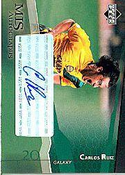 2004 Upper Deck MLS Autographs #CRA Carlos Ruiz