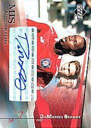 2004 Upper Deck MLS Autographs #DBA DaMarcus Beasley