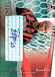 2004 Upper Deck MLS Autographs #EPA Eddie Pope