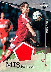 2004 Upper Deck MLS Jerseys #ARJ Ante Razov