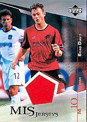 2004 Upper Deck MLS Jerseys #BDJ Brad Davis