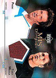 2004 Upper Deck MLS Jerseys Dual #PTM Preki/Tony Meola