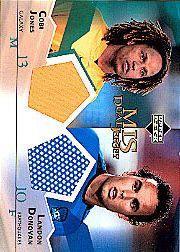 2004 Upper Deck MLS Jerseys Dual #CJLD Cobi Jones/Landon Donovan