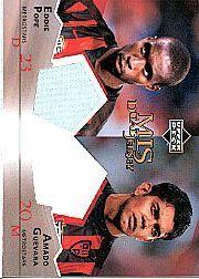 2004 Upper Deck MLS Jerseys Dual #EPAG Eddie Pope/Amado Guevara