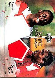 2004 Upper Deck MLS Jerseys Dual #FADR Damani Ralph/Freddy Adu