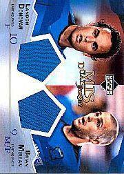 2004 Upper Deck MLS Jerseys Dual #LDBM Landon Donovan/Brian Mullan