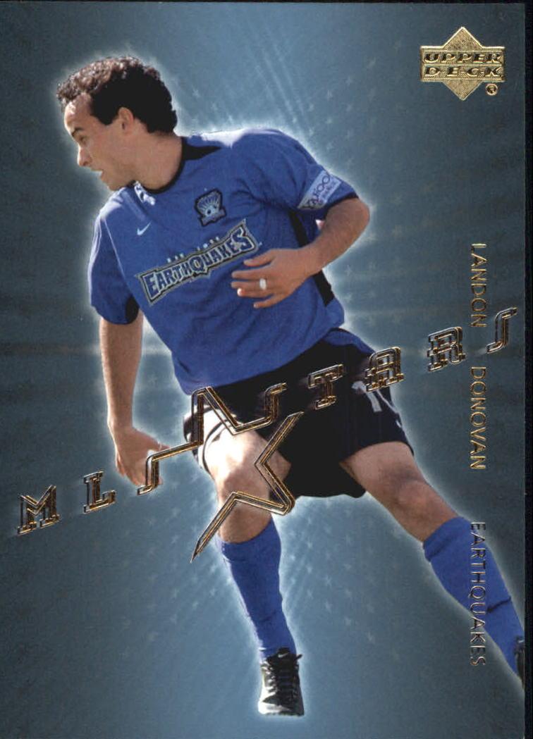 2004 Upper Deck MLS Stars #ST26 Landon Donovan