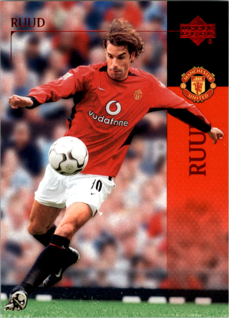 2003 Upper Deck Manchester United #1 Ruud Van Nistelrooy