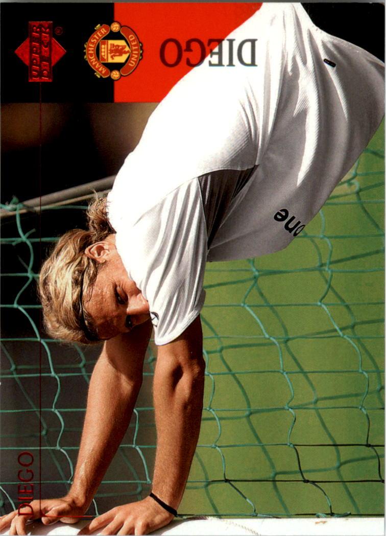 2003 Upper Deck Manchester United #8 Diego Forlan