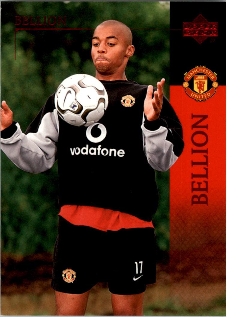2003 Upper Deck Manchester United #12 David Bellion