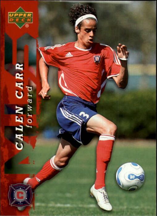 2006 Upper Deck MLS #4 Calen Carr RC