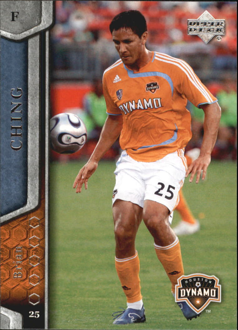 2007 Upper Deck MLS #52 Brian Ching