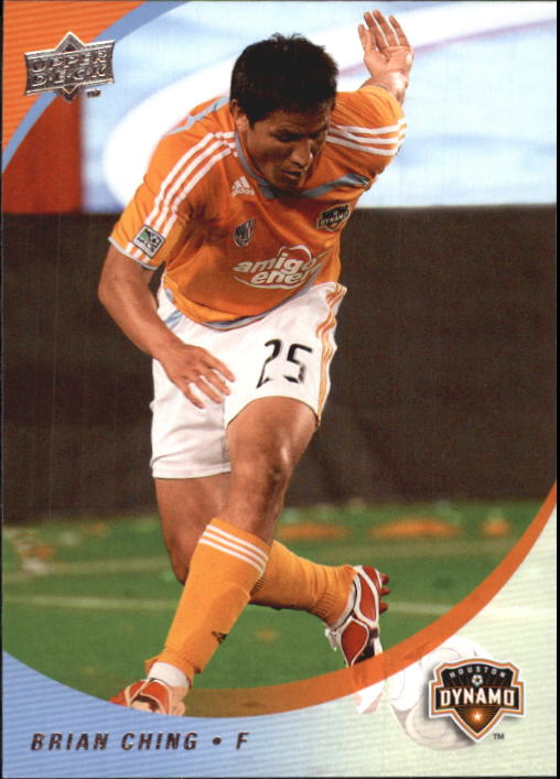 2008 Upper Deck MLS #44 Brian Ching