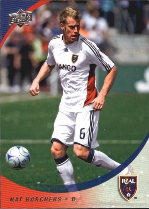 2008 Upper Deck MLS #195 Nat Borchers RC