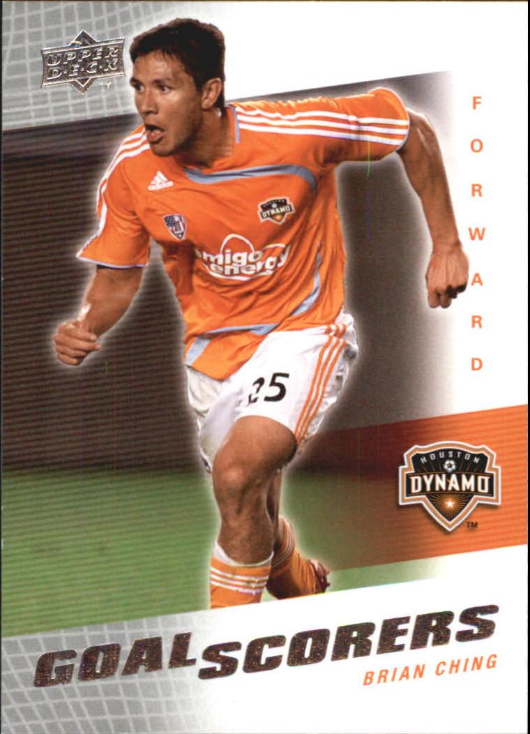 2008 Upper Deck MLS Goal Scorers #GS15 Brian Ching
