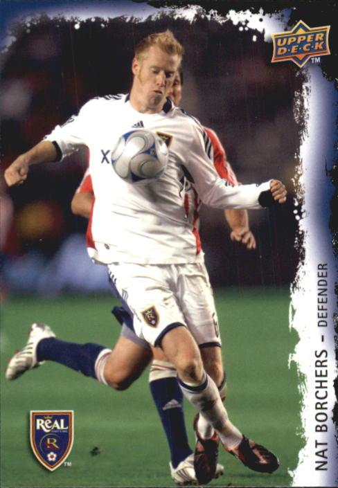 2009 Upper Deck MLS #145 Nat Borchers