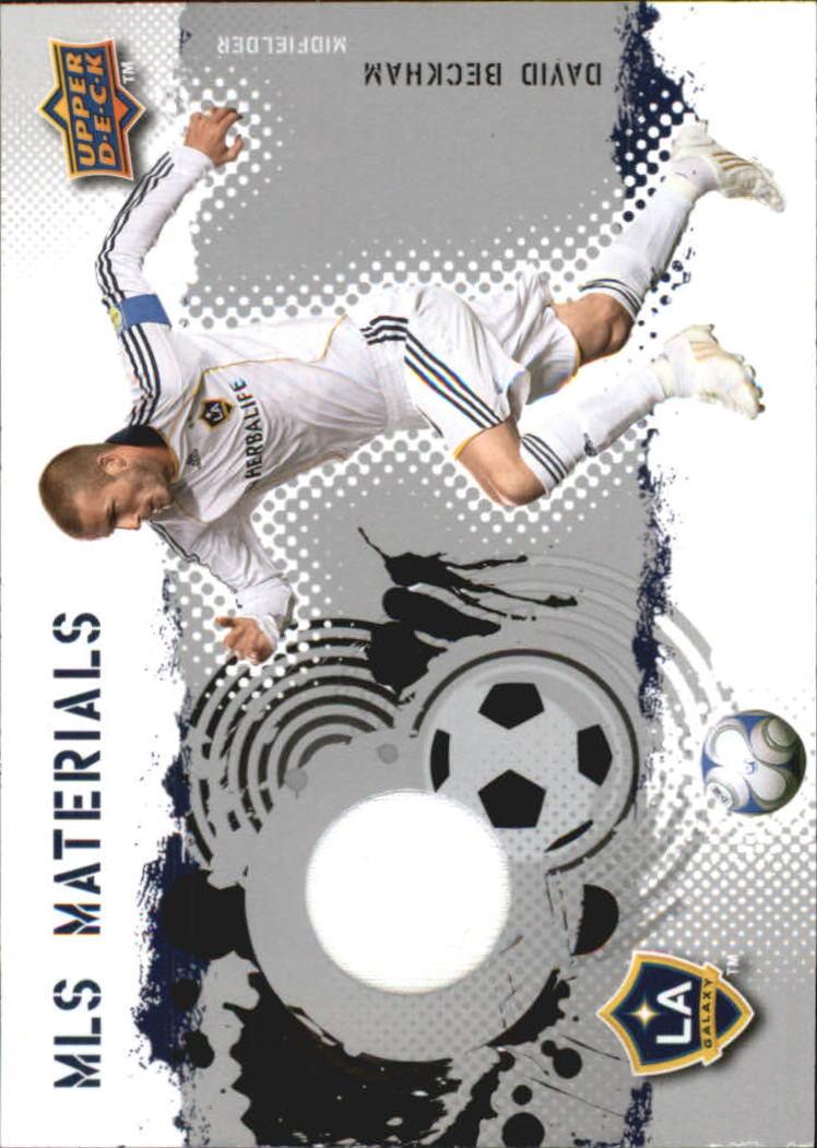 2009 Upper Deck MLS Materials #MTDB David Beckham