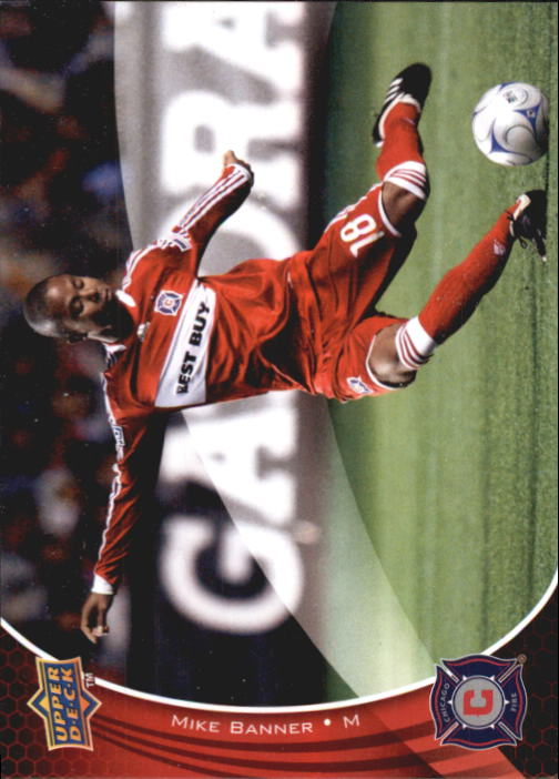 2010 Upper Deck MLS #1 Mike Banner RC