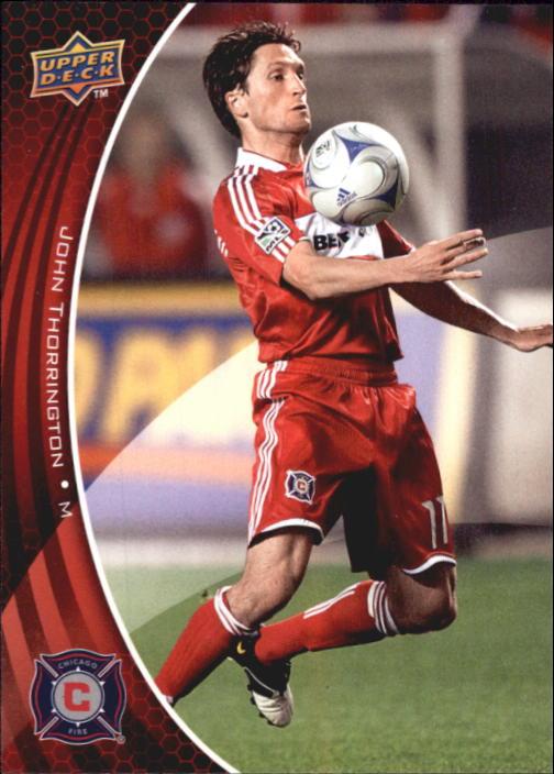 2010 Upper Deck MLS #2 John Thorrington
