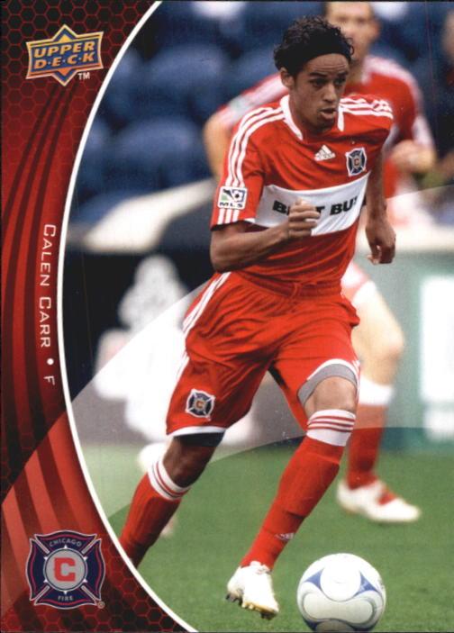 2010 Upper Deck MLS #4 Calen Carr