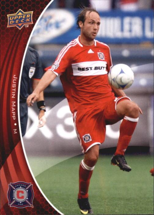2010 Upper Deck MLS #7 Justin Mapp