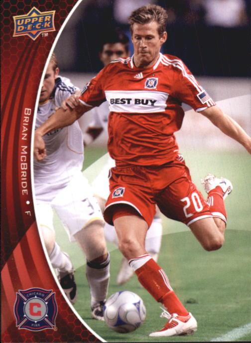 2010 Upper Deck MLS #8 Brian McBride