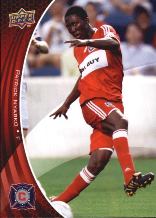 2010 Upper Deck MLS #9 Patrick Nyarko
