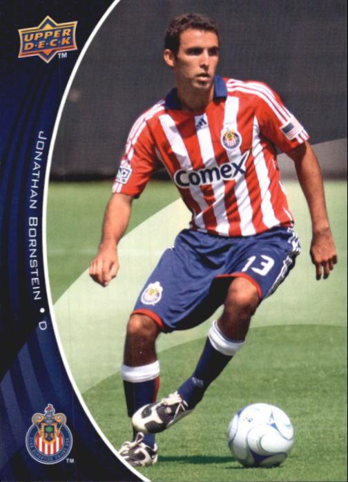 2010 Upper Deck MLS #13 Jonathan Bornstein