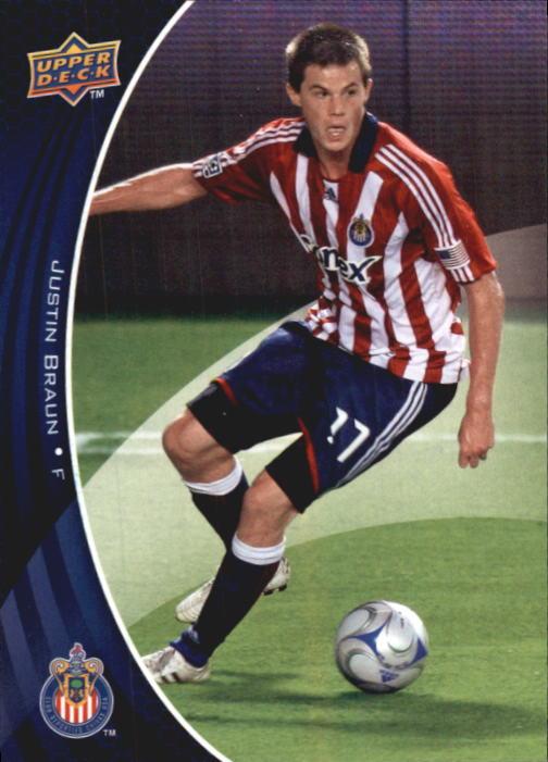 2010 Upper Deck MLS #14 Justin Braun