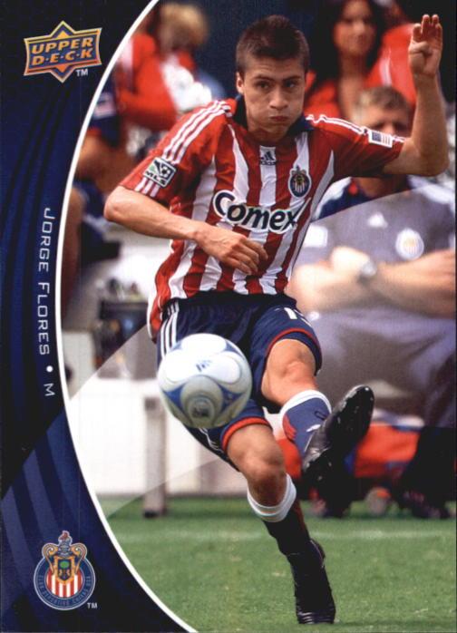 2010 Upper Deck MLS #16 Jorge Flores