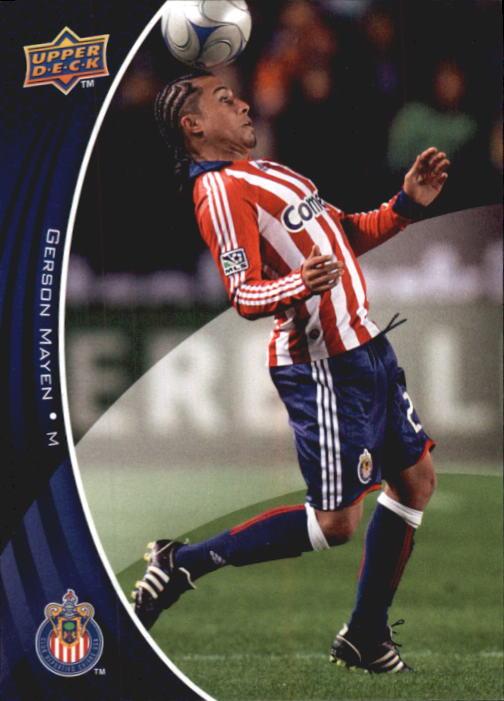 2010 Upper Deck MLS #20 Gerson Mayen