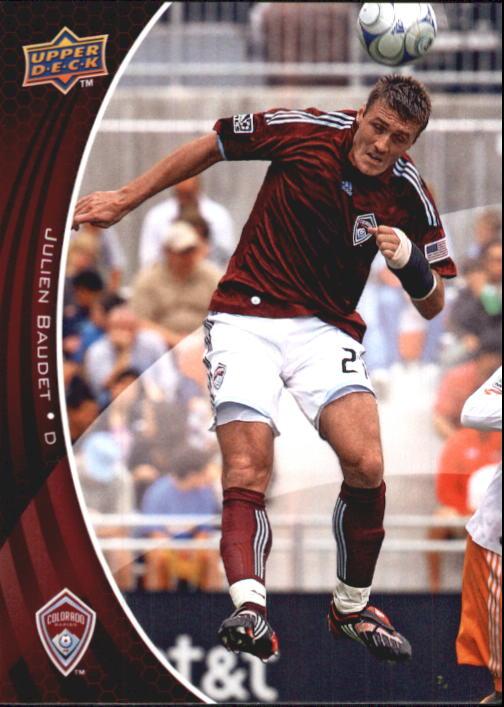 2010 Upper Deck MLS #25 Julien Baudet