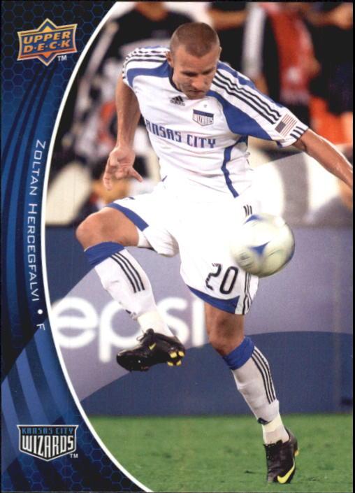 2010 Upper Deck MLS #83 Zoltan Hercegfalvi