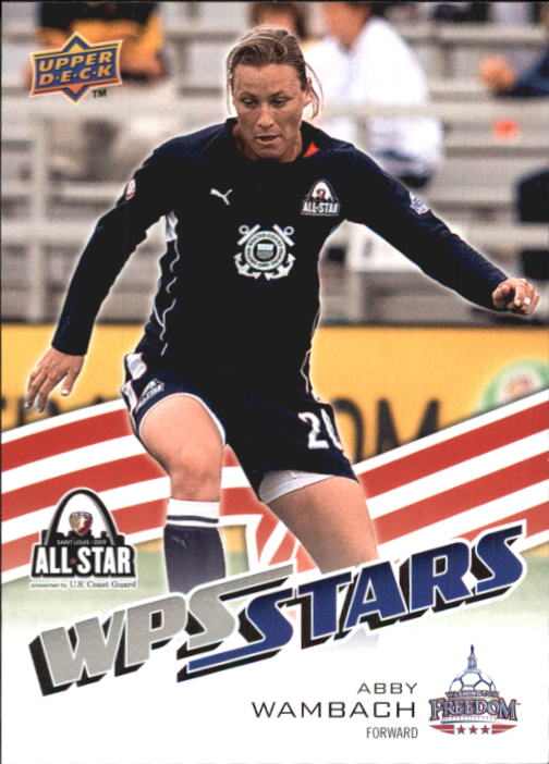 2010 Upper Deck MLS #200 Abby Wambach