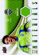 2010 Upper Deck MLS Materials #FM Fredy Montero